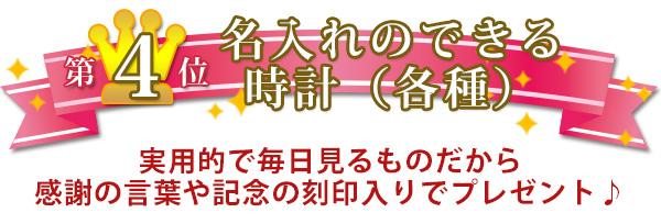喜寿のお祝い人気プレゼントランキング4位