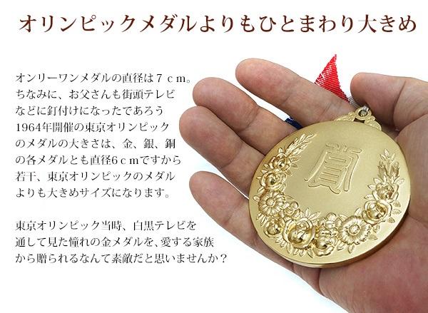 喜寿祝いにメダルセット
